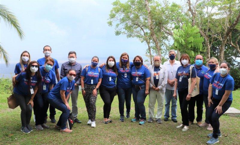 Senac AM visita o Instituto Soka Amazônia